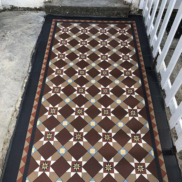 Multicoloured Victorian Tiles