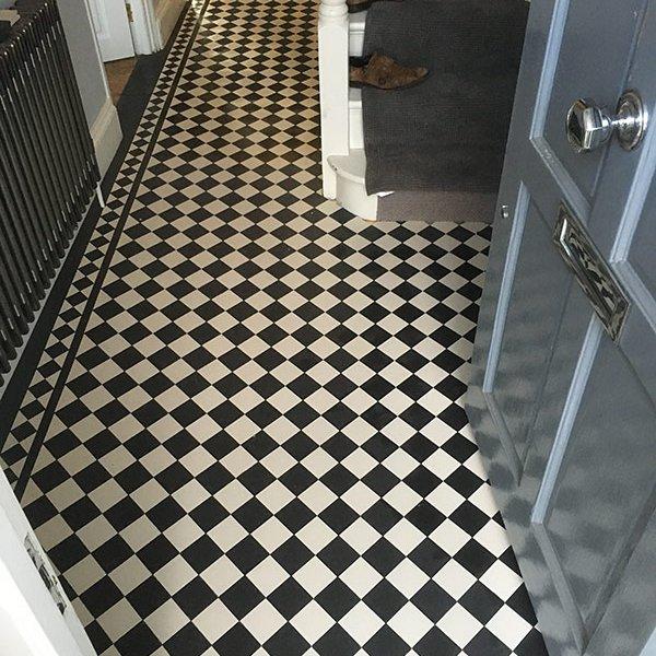 Victorian tiles Hallway Charlton