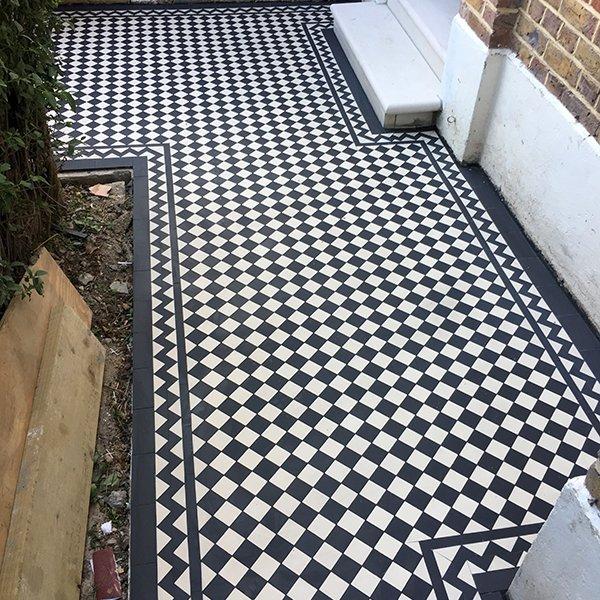 Victorian Mosaic Pathway