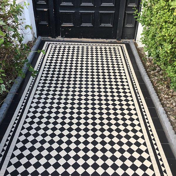 Victorian Mosaic Garden Tiles