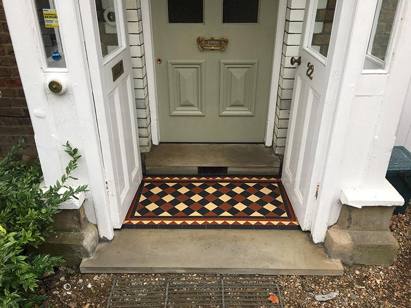 Victorian Tiles Porch Victorian Tiles