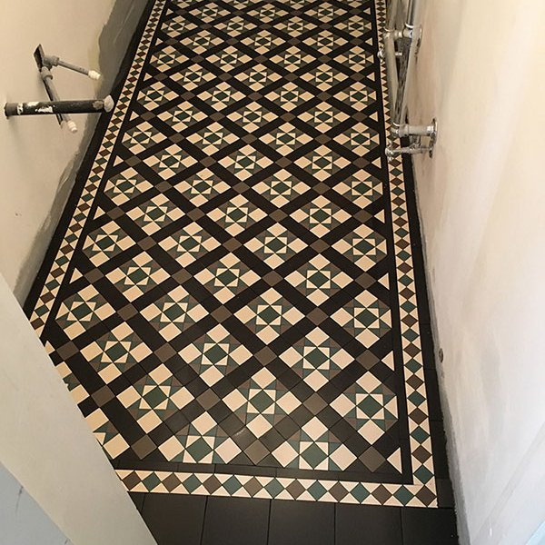 Victorian Tiles Bathroom Peckham