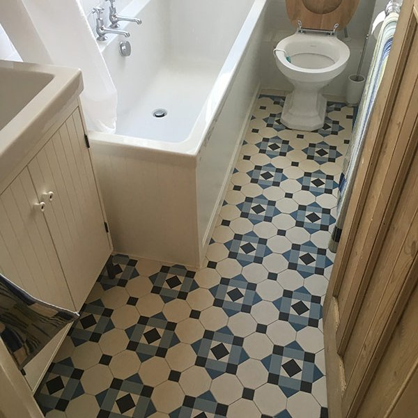 Victorian Tiles Bathroom Dulwich