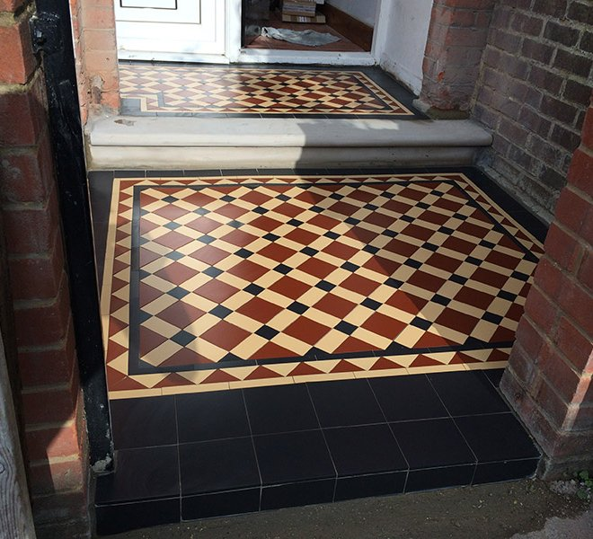 Victorian Tiles Path