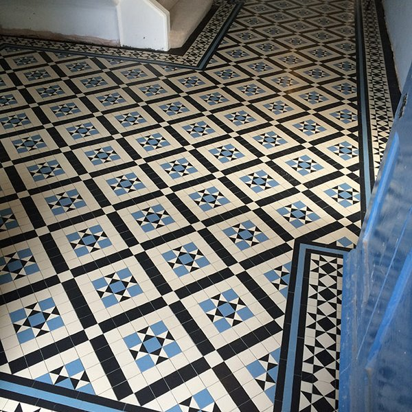 Victorian mosaic Tiles Essex