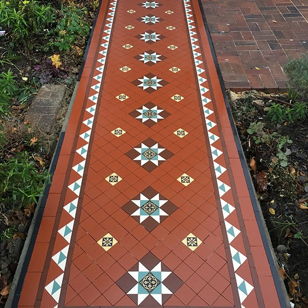 Victorian Tiles Garden