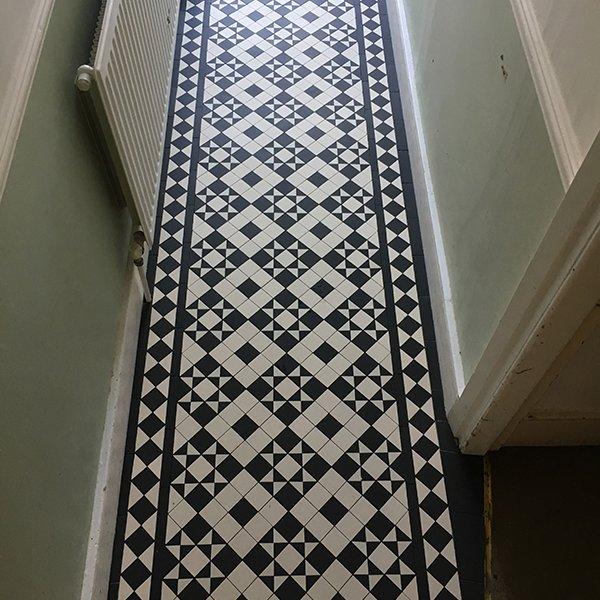 Victorian Tiles Hallway Bramley
