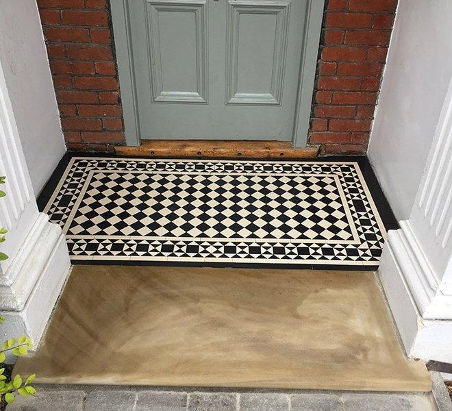 Victorian Mosaic Porch