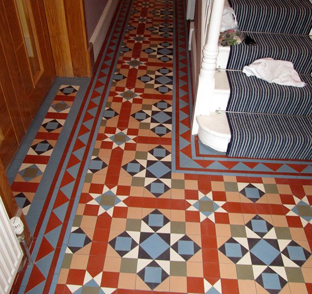 hallway victorian tiles Epping