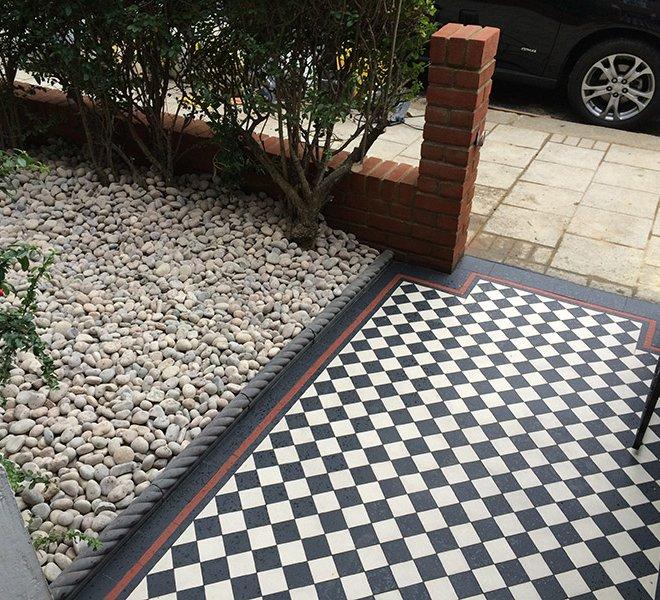 front garden tiles
