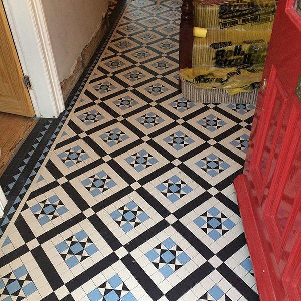victorian hallway tiles Eltham