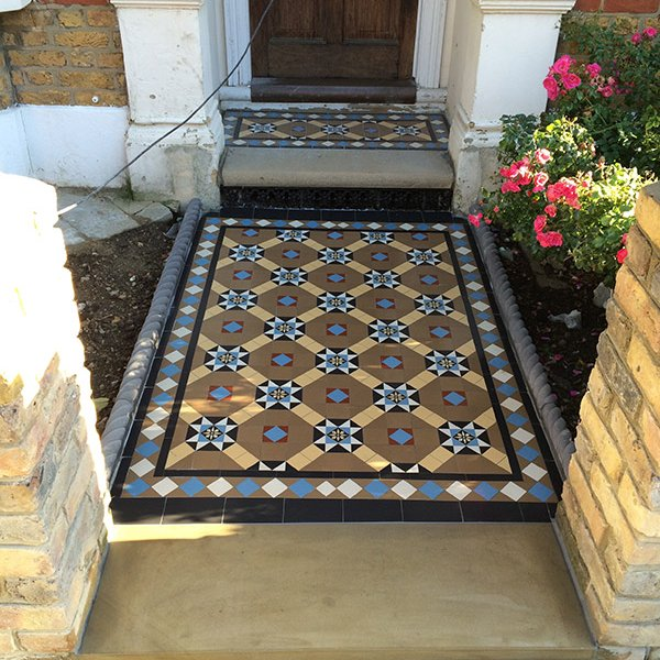 victorian pathway tiles