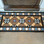 Multicoloured Victorian Mosaic Porch