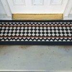 Victorian Tiles Porch