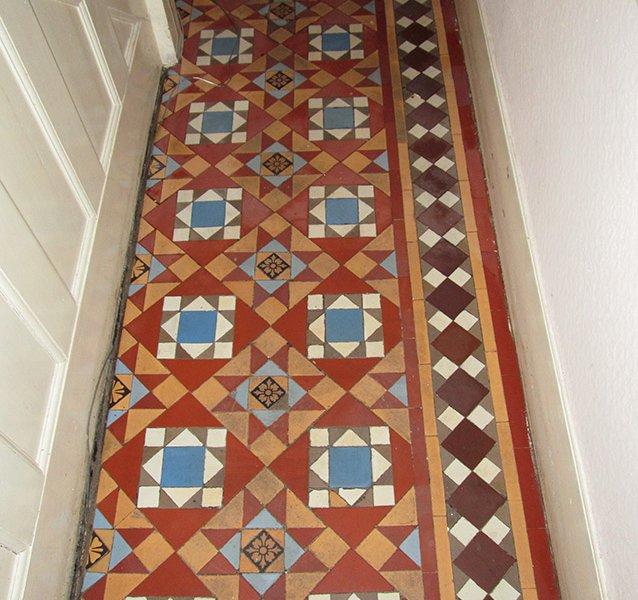Victorian tiles Restoration