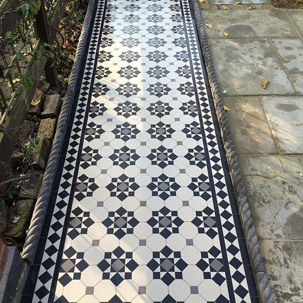 Victorian Garden tiles