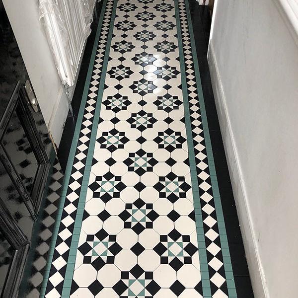 Victorian Mosaic Hallway Tiles