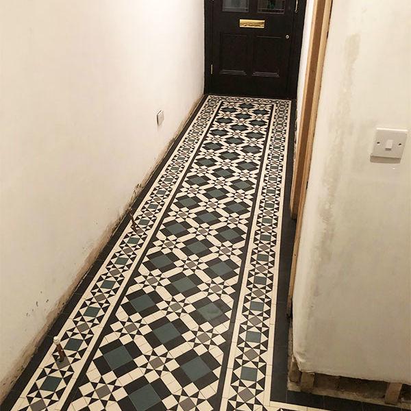 Victorian Mosaic Tiles Hallway